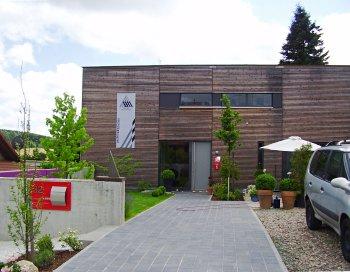 europ ische holzroute abschnitt rheinland pfalz benelux holzkubus haus in gusenburg. Black Bedroom Furniture Sets. Home Design Ideas