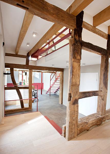 europ ische holzroute abschnitt eifel sanierung einer historischen fachwerkanlage in kreuzau. Black Bedroom Furniture Sets. Home Design Ideas