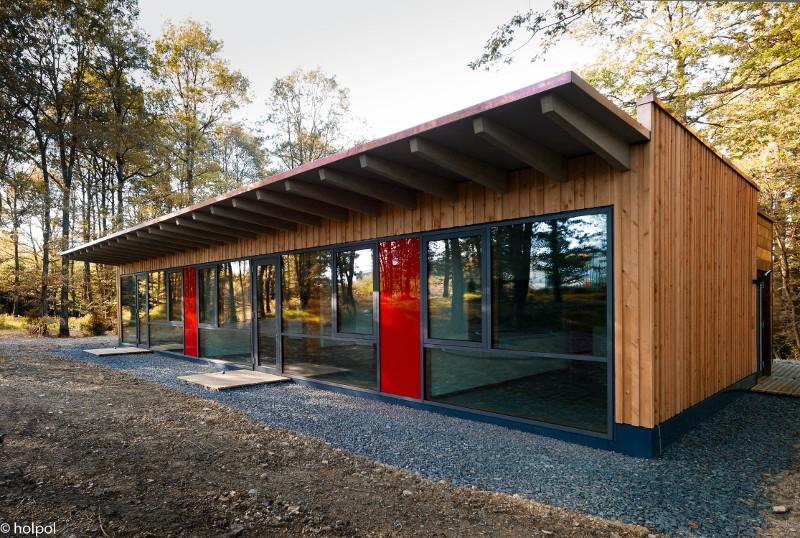 Europaische Holzroute Abschnitt Benelux Scoutenhome Ein Haus