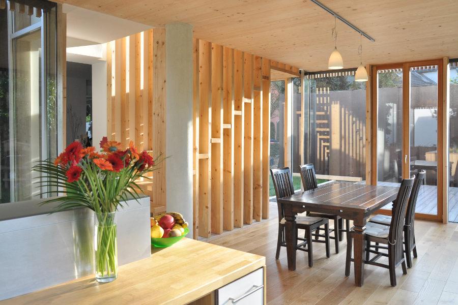 europ ische holzroute abschnitt rheinland pfalz niedrigenergie anbau an ein wohnhaus. Black Bedroom Furniture Sets. Home Design Ideas